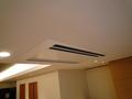 天井にはめ込み式エアコン
