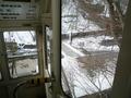 雪の駐車場