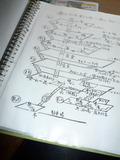 手書きの案内図