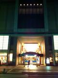 ホテルの裏口