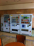ロビー階の自販機