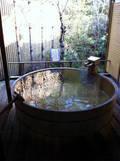 貸切露天風呂「月」の浴槽