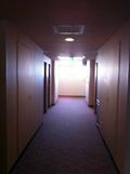 フロアーの廊下