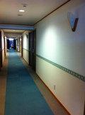 ルームフロアの廊下