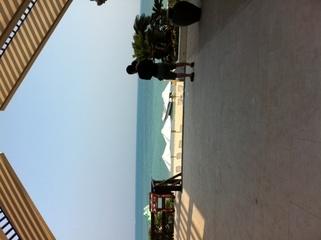 プライベートビーチも素敵!