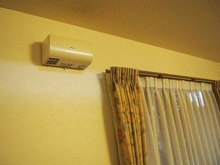 空調設備には注意