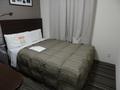 広めのベッド