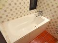 ダブルルームの浴室はユニットバスではない
