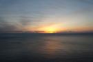 部屋からの景色(日の出前)1