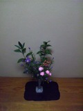 部屋に飾ってある花その1