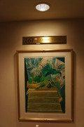 16階のフロアにある絵