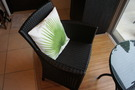 室内の椅子