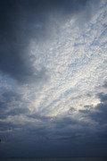 ホテルから見た雲