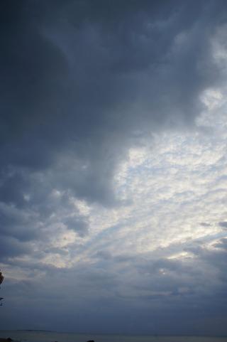 ホテルから見た雲4