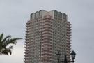アメリカンヴィレッジから見たタワー