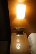 部屋にあるランプ
