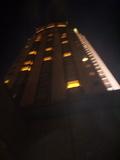 温泉からみたホテル