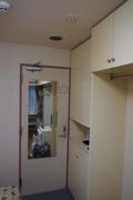 鏡と下駄箱