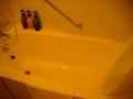 ぴかぴかな浴槽