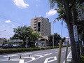 成田駅近くから