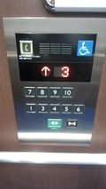 エレベーター側面パネル