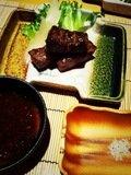 とろけるとろける。。。美味し過ぎる松坂牛ステーキ。