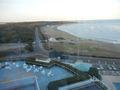 ホテルから君が浜方面の景色