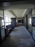 11階最上階の客室へ続く廊下
