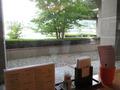 レストラン窓際からの景色