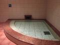 ぬる湯の浴槽(水風呂)