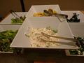 普通のサラダコーナー