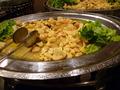 カリフラワーと海老とイカの炒め物