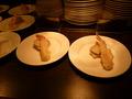 ライブキッチンの天ぷら