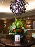 フロント前のお花