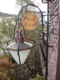 ランプと看板
