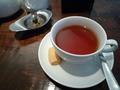 レストランで飲んだ紅茶