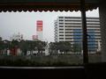 朝食会場からの眺め