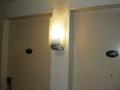 部屋の入口の工夫