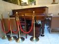 レストランにあったピアノ