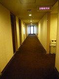 エレベーター側の通路です