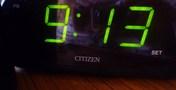 目覚まし時計です
