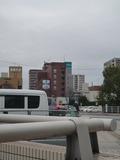 岡山駅側からみたホテルの外観