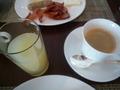 朝食のドリンク