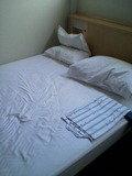 ホテルセカンド・イン梅田(ベッド)
