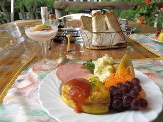 最高の朝食でした。