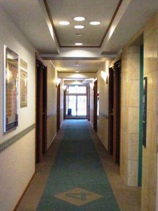 小ぶりのホテル