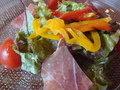 パルマ産生ハムのサラダ