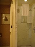 トイレの隣がシャワーブース