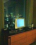 寝室側のテレビ