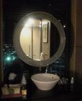 バスルームの鏡